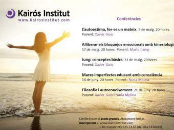 Ciclo de conferencias en Kairos Institut