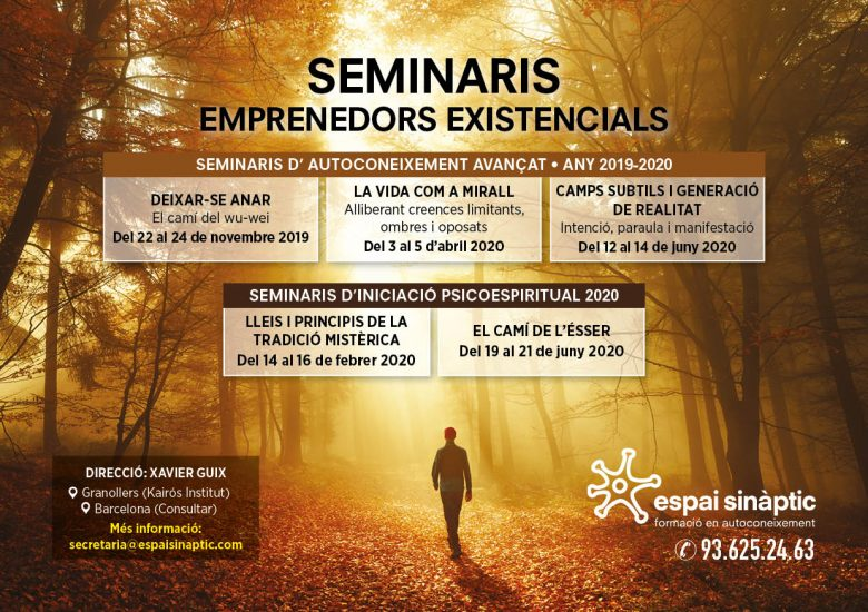 Flyer retirs i seminaris - Dates