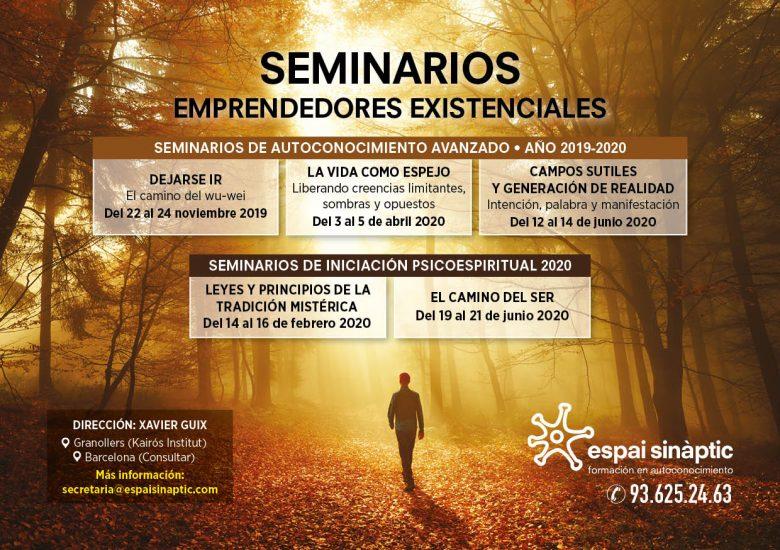 Flyer seminarios - Fechas